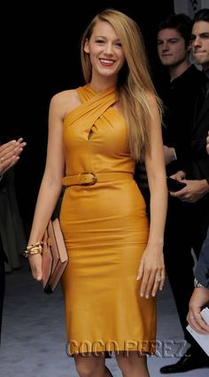 Blake Lively ~ She is absolutely stunning and has an amazing sense of fashion.