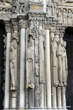 Cathédrale Notre-Dame de Chartres - Les Statues Colonnes du Portail occidental by Philippe_28