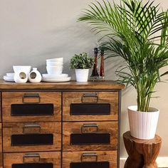 This week we will be re installing our showroom with old favourites like this 9 drawer apothecary chest , alongside new styles for 2019 . our stock is arriving daily so it's a perfect time to book a visit Industrial Furniture, Vintage Industrial, Interior Styling, Interior Design, Wholesale Furniture, Vintage Interiors, Apothecary, Showroom, Home Accessories