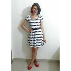 Meu Look ❤  Estou amando esse sapato!!! 📷By @miguellobo1