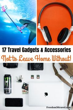 All of the best (and some of the worst!) travel gadgets accessories and tech for men women and kids! Super useful for international flights business trips and road trips! hotel restaurant travel tips Best Travel Gadgets, Spy Gadgets, High Tech Gadgets, Travel Hacks, Security Gadgets, Camping Gadgets, Phone Gadgets, Travel Ideas, Family Vacation Destinations