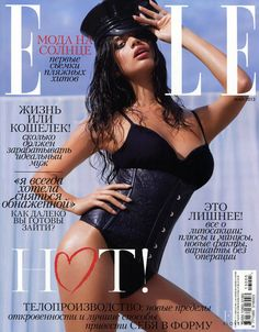 Covers of Elle Russia with Sara Sampaio, 958 2013   Magazines   The FMD #lovefmd