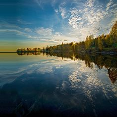 Maridalsvannet lake, Maridalen, Norway