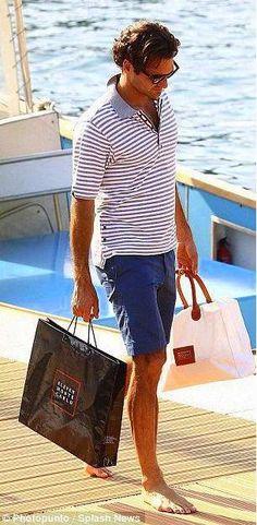 Country Club- Tennis champion, Roger Federer- ♔LadyLuxury♔