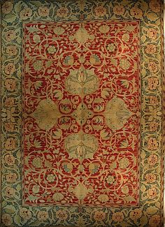 A fine William Morris carpet, after a design by William Morris and John Dearle , English, Circa 1889