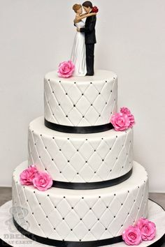 quilted wedding cakes - Google Search