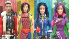 Play Doh Disney Descendants Inspired Costumes Barbie & Ken Dolls Compila... Disney Princess Dresses, Disney Dresses, Disney Channel Descendants, Disney Dolls, Ken Doll, Inspirational Celebrities, Play Doh, Barbie And Ken, Popular Music
