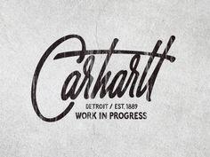 Dribbble - Carhartt by Sergey Shapiro