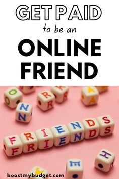Are you a friendly kind of person? Thought so! Would you like to get paid to chat online? GET PAID TO BE AN ONLINE FRIEND (AND MAKE $20-$50+ PER HOUR!) get paid to be an online friend   make money as an online friend   get paid to be an online companion   get paid to be an online friend uk   get paid to be a virtual friend uk   virtual friend jobs   get paid to be a friend uk   rent a virtual friend   get paid to talk to lonely people   make money online   rent a friend online Earn Extra Cash, Making Extra Cash, Make Side Money, Make Money Online, Online Friends, Quitting Your Job, Be Your Own Boss, Work From Home Jobs, Making Ideas