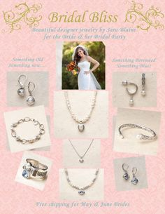 brides can find their special jewelry pieces from Sara Blaine!  http://southerninspiration.willowhouse.com