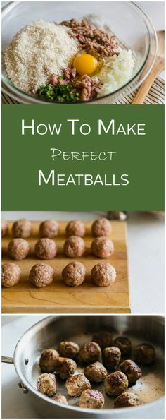 Low Unwanted Fat Cooking For Weightloss Would You Like The Best Meatball Recipe? Pursue The Easy Steps And You'll Be Making Perfect Meatballs In No Time. Meatball Recipes, Meat Recipes, Appetizer Recipes, Cooking Recipes, Healthy Recipes, Meatball Recipe No Cheese, Recipes Dinner, Appetizers, How To Make Meatballs