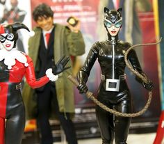 Harley Quinn and Catwoman.