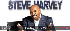Steve Harvey performs at Chaifetz Arena at 8 p.m., July 27.