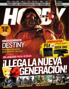 Get your digital copy of Hobby Consolas Magazine - August 2013 issue on Magzter and enjoy reading it on iPad, iPhone, Android devices and the web. Xbox 360, Playstation, Ps4, Last Of Us, Nintendo Ds, Wii U, Retro, Destiny, You Got This