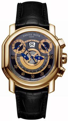 Daniel Roth Papillon Chronographe Mens Watch Model: 319-Z-20-392-CN-BD