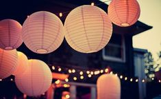 Spruce up a paper lantern with our crafty DIY tricks that make elegant decorations.