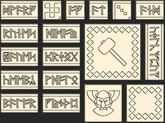 """dwarvish patterns 