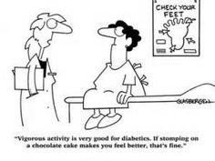 Exercise is great for managing diabetes!