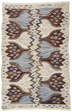 Textiles, Textile Patterns, Textile Art, Scandinavian Embroidery, Scandinavian Folk Art, Color Crafts, Tapestry Weaving, Rug Hooking, Rugs On Carpet