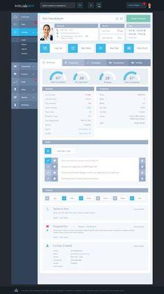 漂亮的后台界面-UI_UI设计_UI_U...