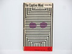 Paul Rand Cover Art ~ The Captive Mind by Czeslaw Milosz 1953 Vintage Book