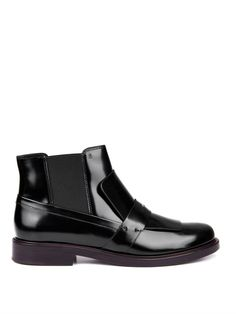 Leather ankle boots | Tod's | MATCHESFASHION.COM
