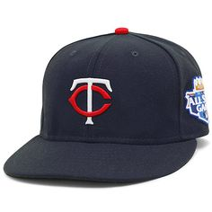 Minnesota Twins Authentic Home Performance 59FIFTY On-Field Cap with 2012 All-Star Patch