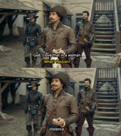 I love that in a woman - Aramis | The Musketeers (BBC, 2014)