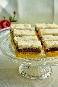 Dessert Cake Recipes, Lemon Desserts, Sweet Desserts, Sweet Recipes, Torte Recepti, Kolaci I Torte, Bosnian Recipes, Croatian Recipes, Baking Recipes