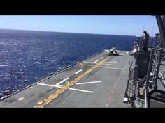 Marine F-35B conducts first operational testing at sea