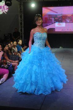 Blue sweet 15/16 dress