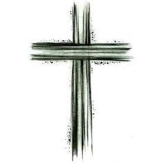 "I'm in love with this cross! Want it on my left shoulder with the words ""I Am Not Alone"""