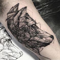 #Tattoo by @fredao_oliveira  ##Equilattera #tattoos #tat #tatuaje #tattooed #tattooartist #tattooart #tattoolife #tattooflash #tattoodesign #tattooist  #bestoftheday #original #miami #mia #creative #wynwood #awesome #love #ink #art #design #artist #illustration #linework #black #sketch #wolf by equilattera