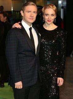 Martin Freeman's longtime partner, Amanda Abbington now in Sherlock http://britsunited.blogspot.com/2013/03/martin-freemans-partner-amanda.html