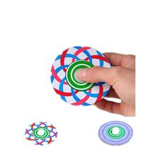 Optical illusion of Spinner Fidget Hand Spinner Aluminum ADHD Autism Fingers Reduce Stress Toys  Specification: Item Hand spinner Material Zinc Alloy Size 89cm Weight 100g Color As the picture Great For Fidgety Hands a good choice for Killing Time. Great For Fidgety Hands ADD & ADHD Sufferers Killing TimeHelps Relieve Stress Perfect size suitable for Adults and kids Easy To CarrySmallSimpleDiscrete and Funalso effective for Focus and Deep Thought Use our Fidget Spinner Toy to help reduce…