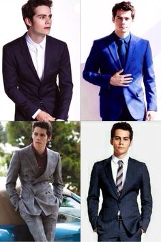 Dylan O'Brien in suits(;