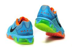 competitive price 08412 c5654 Nike Air Max Tailwind 7 breathable sky blue orange green black s