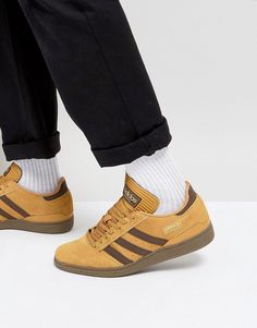 cheap for discount 7ecc4 ab8bc adidas Skateboarding Busenitz Sneakers In Yellow BY3966 - Yellow Yellow  Adidas, Adidas Busenitz, Nike