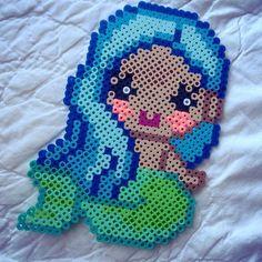 Mermaid perler beads by merrmaidchild