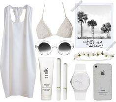 Oh I love summer...pool side gear