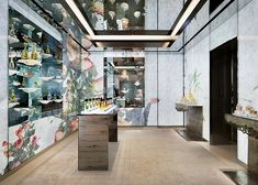 Dior flagship store by Peter Marino, Tokyo Japan luxury fashion Boutique Design, Dior Boutique, Fashion Boutique, Parfum Dior, Dior Store, Retail Interior Design, Tokyo Tower, Glass Facades, Wallpaper Magazine