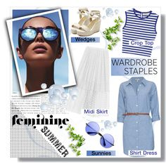 Top 5 Summer Staples by sarah-crotty on Polyvore featuring polyvore fashion style Le Specs