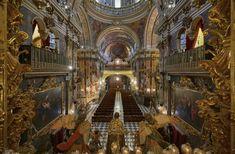 Basilica Of San Juan De Dios | Granada | Spain | Photo By Yaroslav Romanenko Granada Spain, Europe, San Juan, Dios, 17th Century, Cruise, Temple, Nativity Scenes, Andalusia