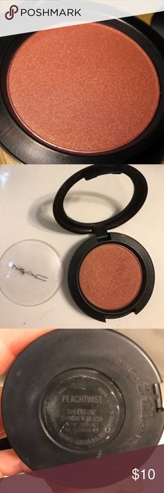 Spotted while shopping on Poshmark: MAC Peachtwist Sheertone Shimmer Blush! #poshmark #fashion #shopping #style #MAC Cosmetics #Other