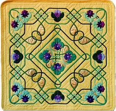 Celtic Medallion I by Scarlett Rose. The printed pattern or e-pattern is $9usd from http://scarlettrose.com/celtic_medallion_i_2.html