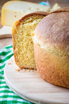 """This Italian Easter Cheese Bread is called Crescia, Pizza Di Formaggio or Pizza Di Pasqua. But it has nothing to do with a classic Neapolitan pizza you might be thinking of. It looks more like a cake, a savory """"panettone"""" if you will. Check out the recipe and make your own at home! Italian Cheese Bread, Italian Easter Bread, Italian Recipe Book, Italian Recipes, Wood Burning Oven, Bread Shop, Classic Italian Dishes, Tall Cakes, Cheese Lover"""
