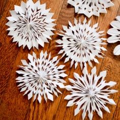Another version of the cut paper snowflake, this time in 3D!