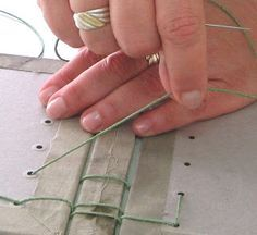 Belgian binding tutorial (It's in a different language but I could figure it out from the pictures)