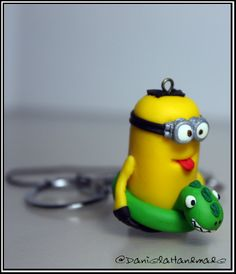Handmade despicable me minion Swimming time (Free Shipping worldwide) on Etsy, $20.00