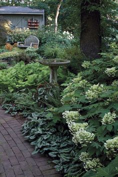 24 Gorgeous Side Yard Garden Design Ideas For Beautiful Home Side Inspiration Beautiful DIY Garden Plans You Can Build Yourself To Complete Your Landscape Cottage Garden Design, Vegetable Garden Design, Vegetable Gardening, Vegetables Garden, Lush Garden, Dream Garden, Shaded Garden, Rocks Garden, Garden Bar